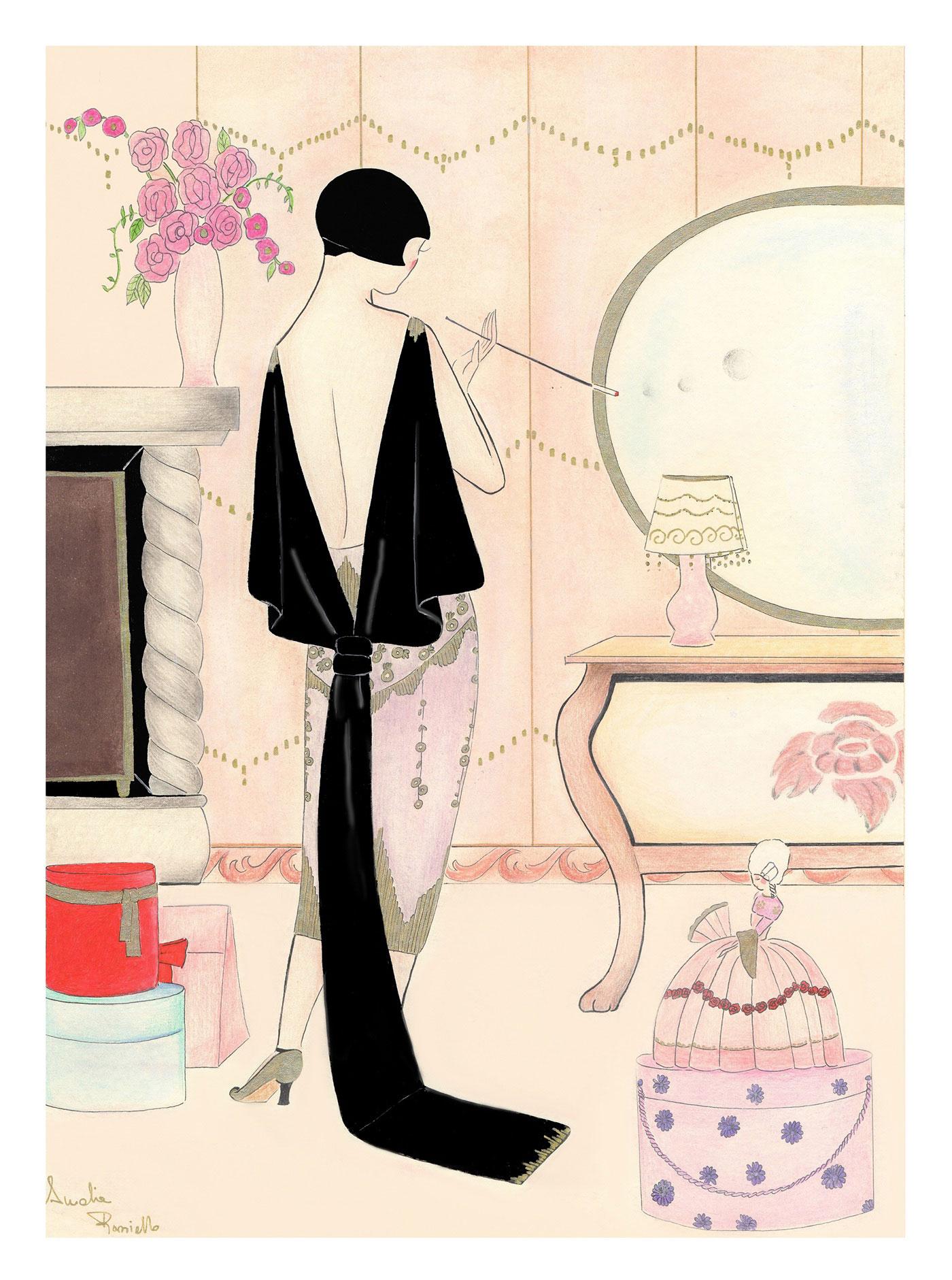 Madame Dabi© - La chambre rose - enkil.org